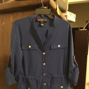 Royal blue jacket